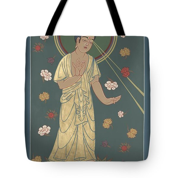 The Amitabha Buddha Descending 247 Tote Bag