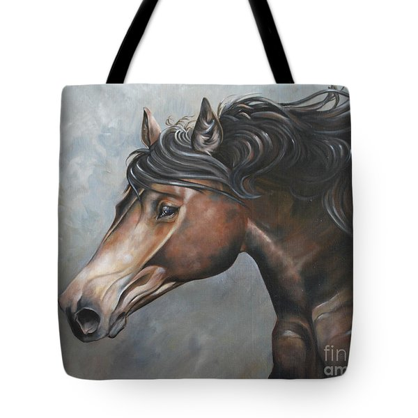 The Andalusian Tote Bag by Debbie Hart
