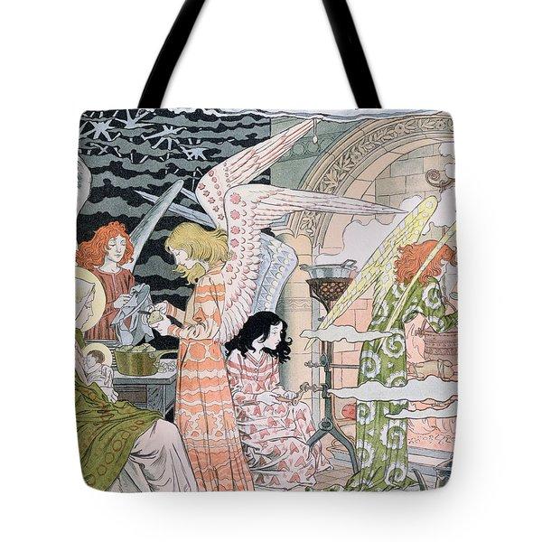 The Angels Kitchen Tote Bag by Eugene Grasset