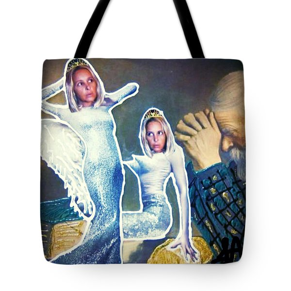 The Angels Of Nothing Tote Bag by Lisa Piper