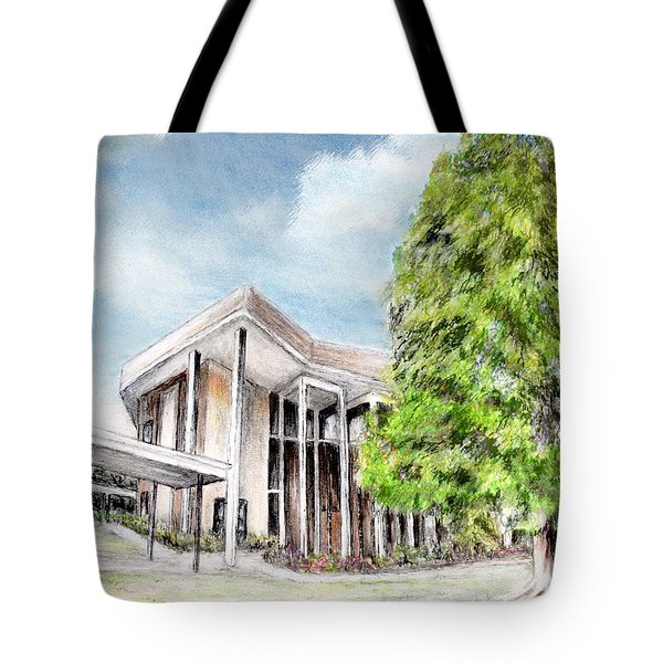 The Angles Of A Modern Architecture  Tote Bag by Danuta Bennett