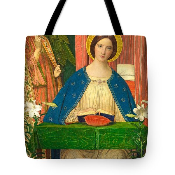 The Annunciation Tote Bag by Arthur Joseph Gaskin