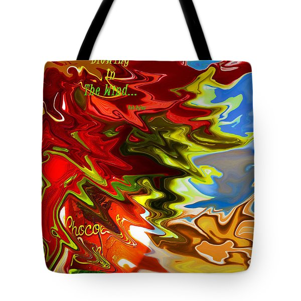 The Answer Tote Bag by Linda Cox