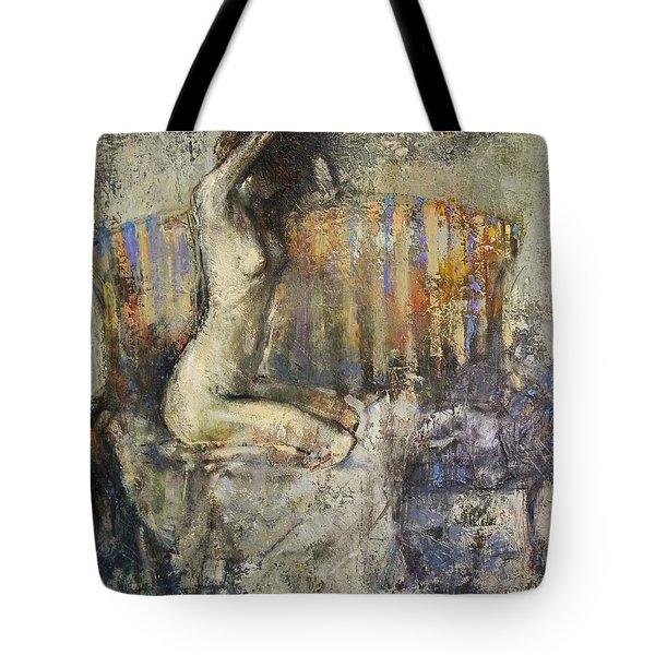 The Antique Sofa Tote Bag