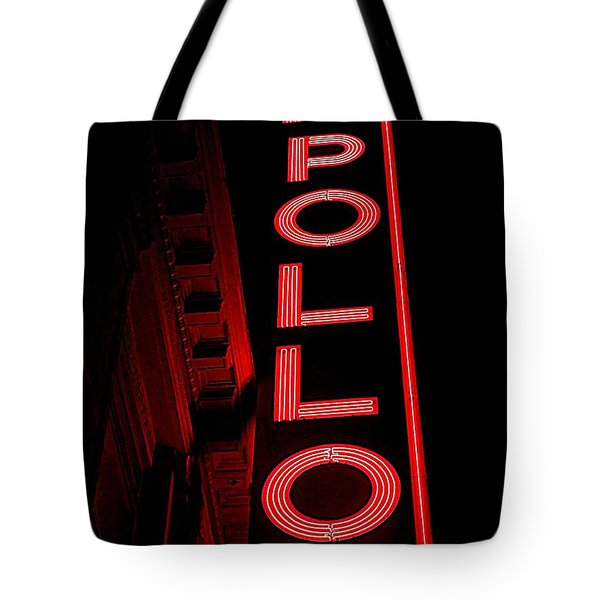 The Apollo Tote Bag by Ed Weidman