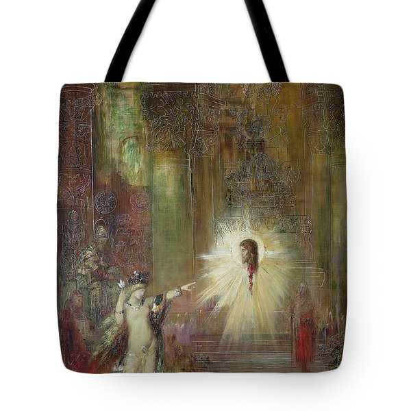 The Apparition Tote Bag by Gustave Moreau
