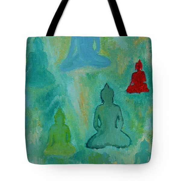 Buddhas Appear Tote Bag
