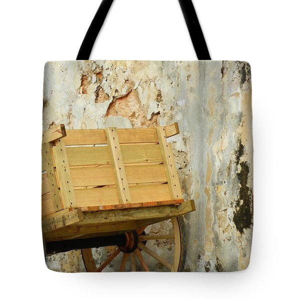 The Apple Cart Tote Bag