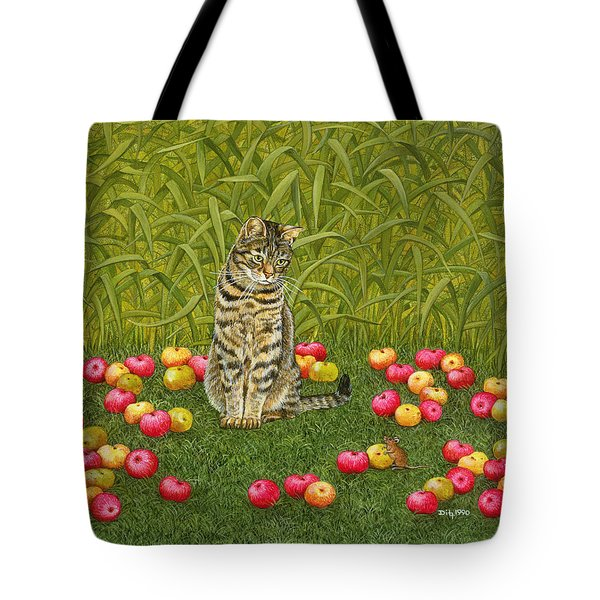 The Apple Mouse Tote Bag by Ditz