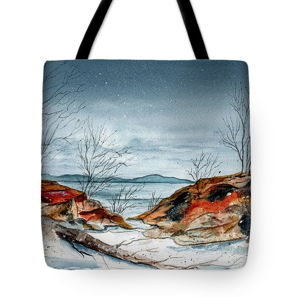 The Approaching Evening Tote Bag by Brenda Owen
