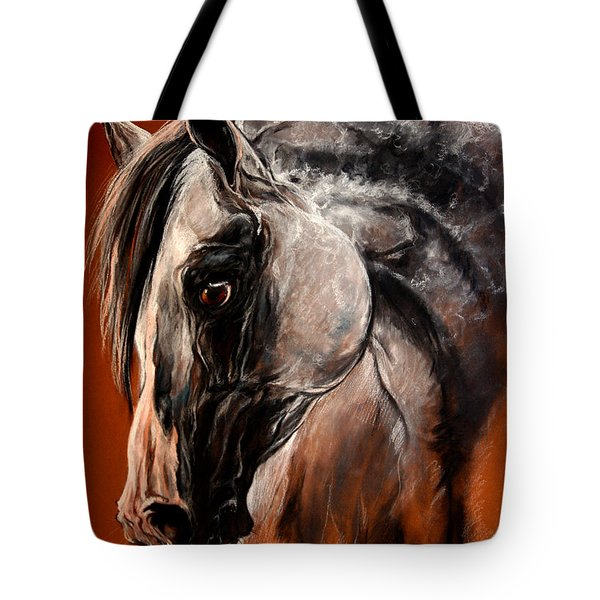 The Arabian Horse Tote Bag by Angel  Tarantella