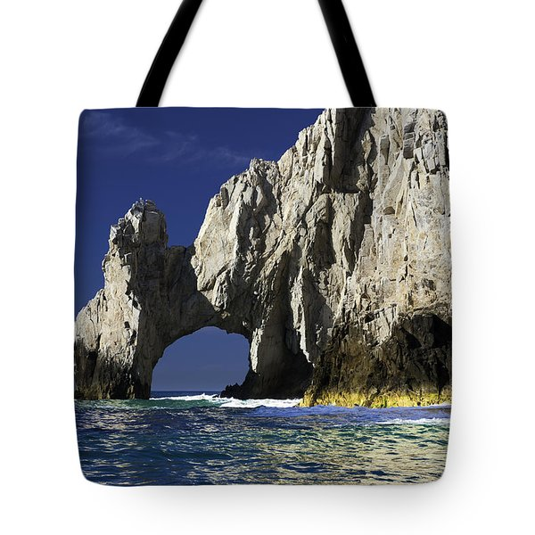The Arch Cabo San Lucas Tote Bag by Sebastian Musial