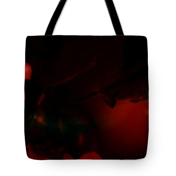 Tote Bag featuring the photograph The Architect Of Red  by Jessica Shelton