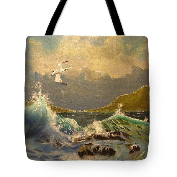 The Arctic Tern Tote Bag