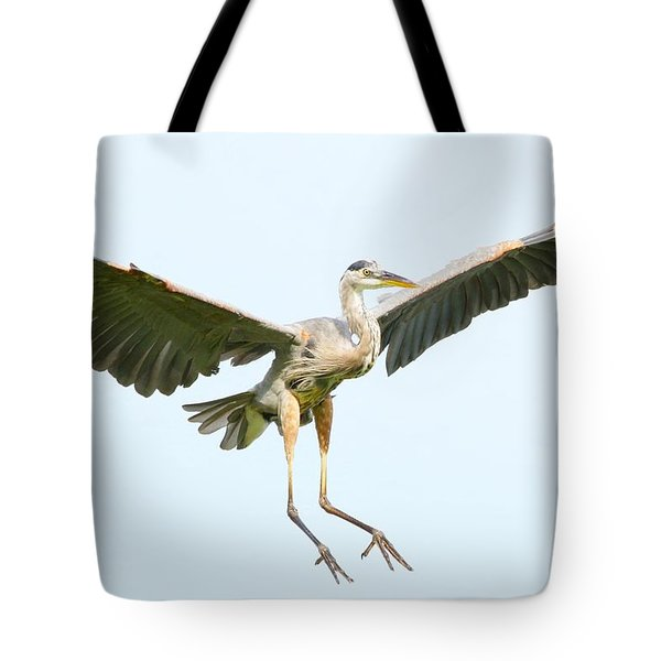 The Arrival Tote Bag by Heather King