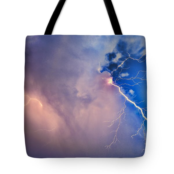 The Arrival Of Zeus Tote Bag