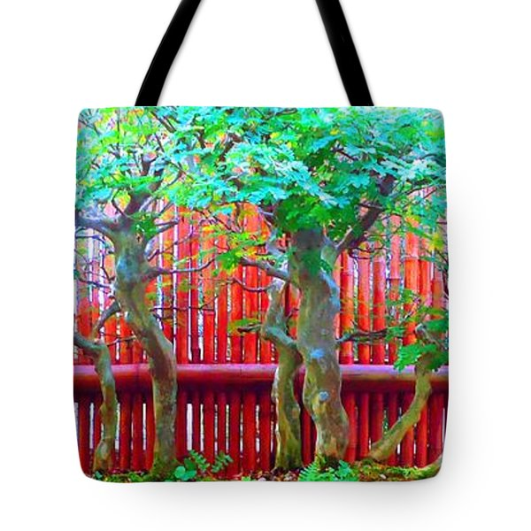 The Art Of Bonsai Tote Bag by Ann Johndro-Collins