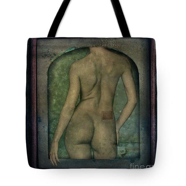 The Art Of Illusion Tote Bag by Andrea Kollo