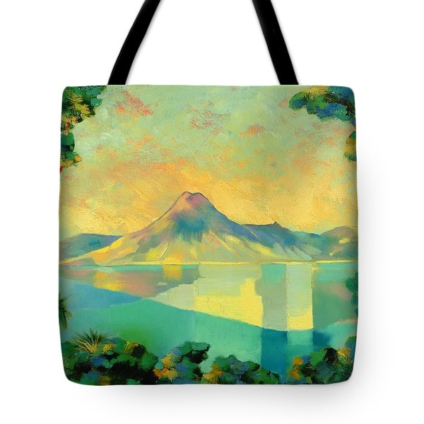 The Art Of Long Distance Breathing Tote Bag by Andrew Hewkin