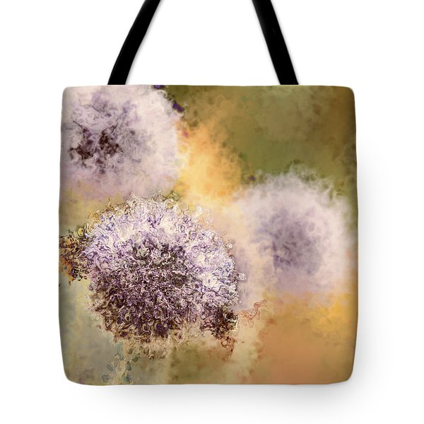 The Art Of Pollination Tote Bag by Peggy Collins