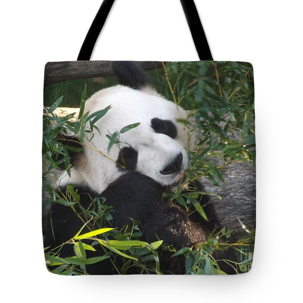 The Art Of Posing At Breakfast Tote Bag by Lingfai Leung