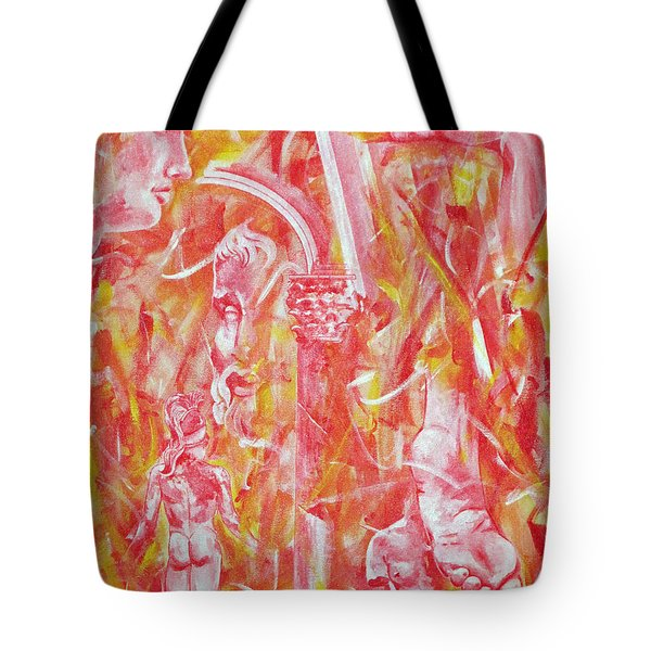 The Art Of Sculptures Tote Bag