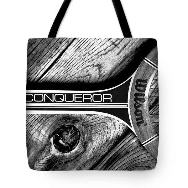 The Art Of Tennis Tote Bag by Benjamin Yeager