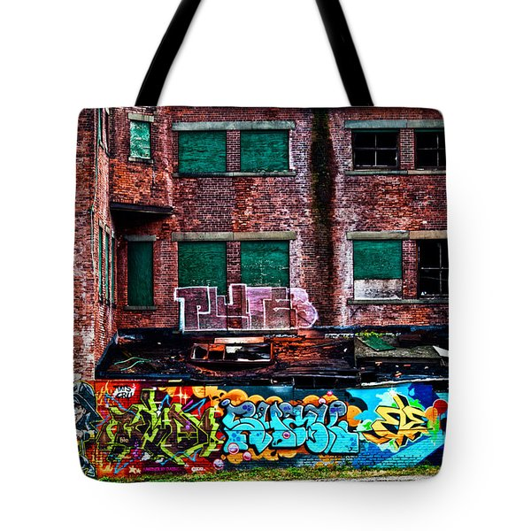 The Art Of The Streets Tote Bag by Karol Livote