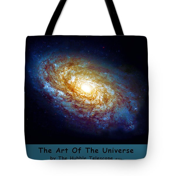 The Art Of The Universe 301 Tote Bag by The Hubble Telescope