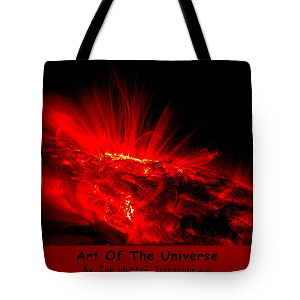 The Art Of The Universe 307 Tote Bag by The Hubble Telescope