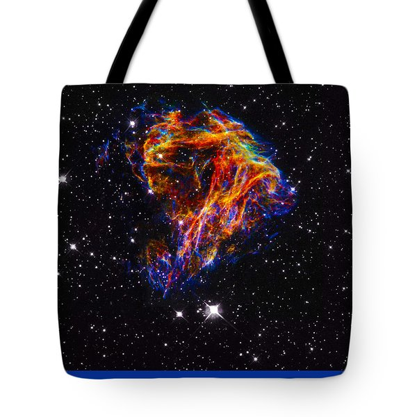 The Art Of The Universe 310 Tote Bag by The Hubble Telescope