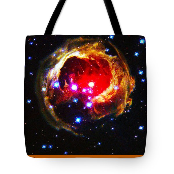 The Art Of The Universe 323 Tote Bag by The Hubble Telescope
