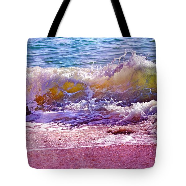 The Art Of Waving Tote Bag