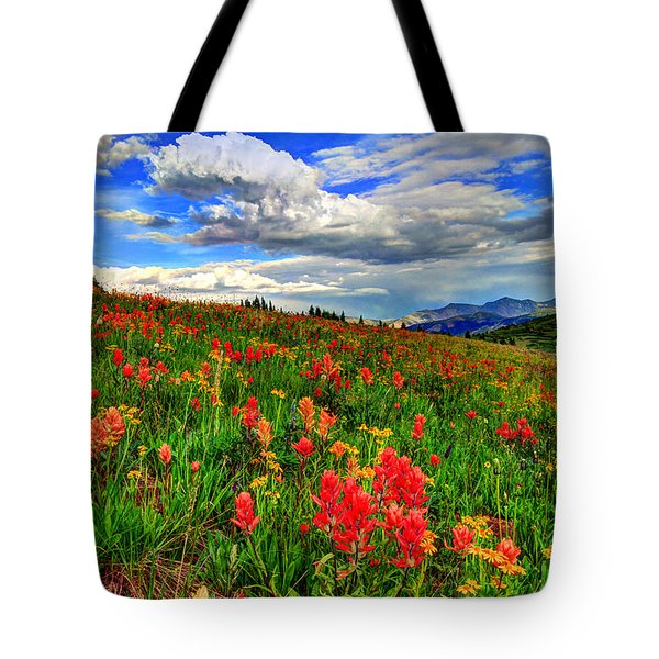 The Art Of Wildflowers Tote Bag