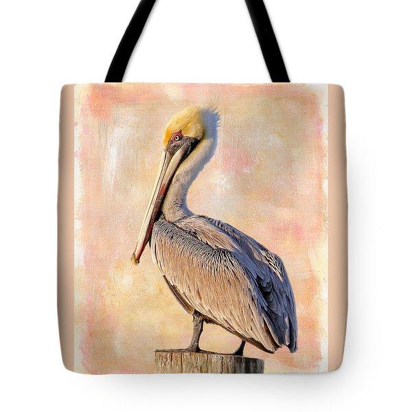 Birds - The Artful Pelican Tote Bag