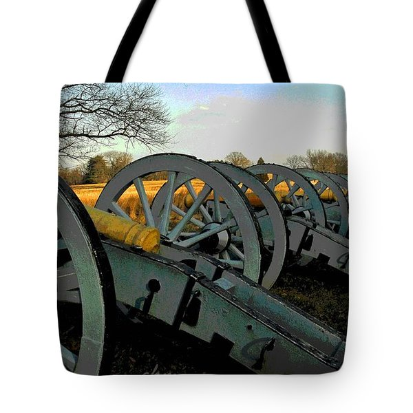 The Artillery Tote Bag by Cindy Manero