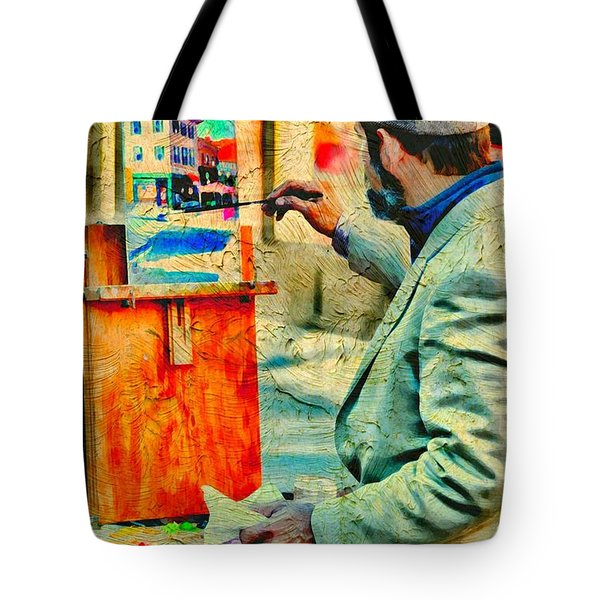 The Artist Tote Bag by Diana Angstadt