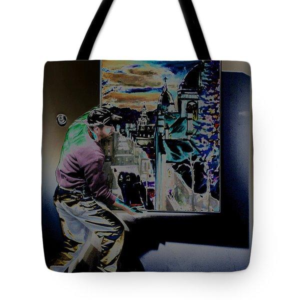 The Artist Paul Emory Tote Bag