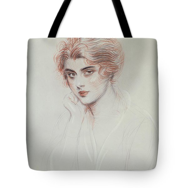 The Artists Daughter Tote Bag by Paul Cesar Helleu
