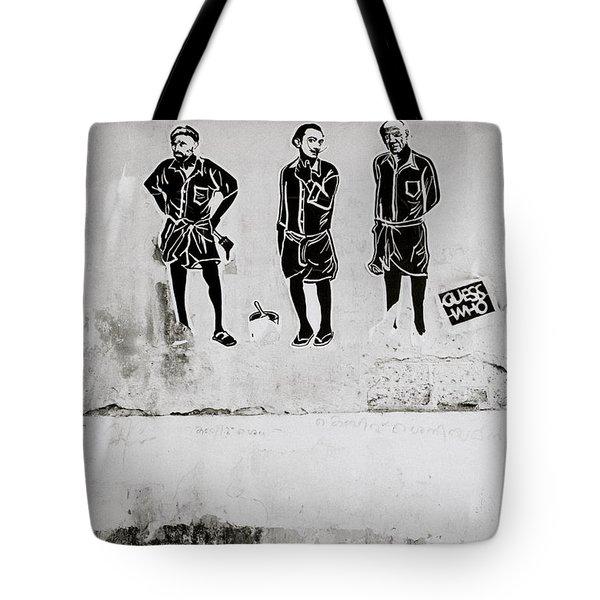 The Trio  Tote Bag