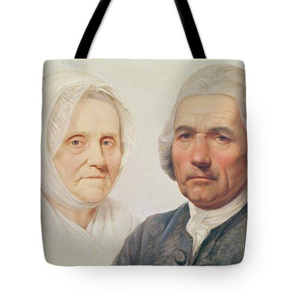The Artists Parents Oil On Canvas Tote Bag