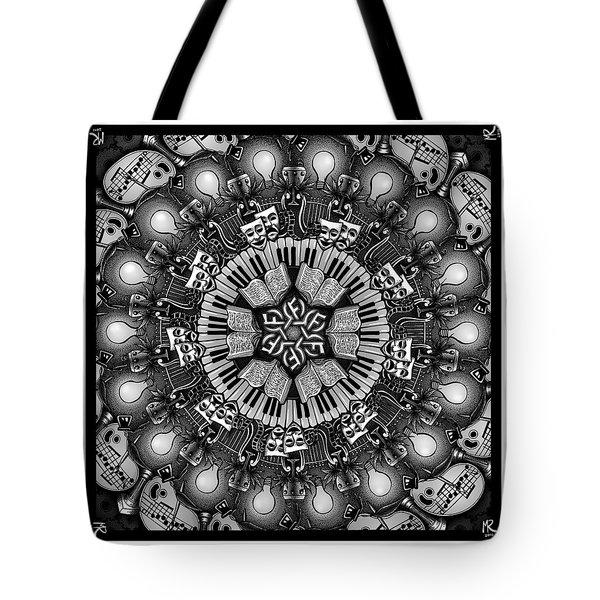 Mandalart Tote Bag