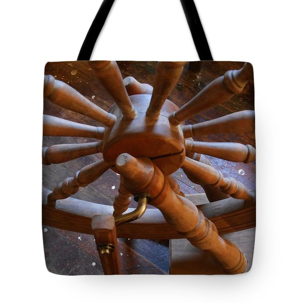 Tote Bag featuring the photograph The Ashford Wheel by Aliceann Carlton