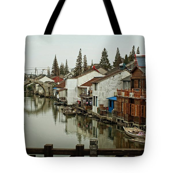 Tote Bag featuring the photograph The Asian Venice  by Lucinda Walter