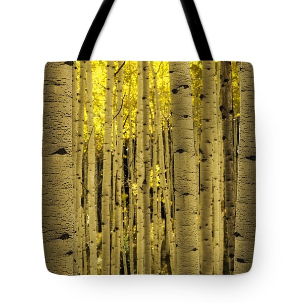 The Aspen Tree Forest Tote Bag
