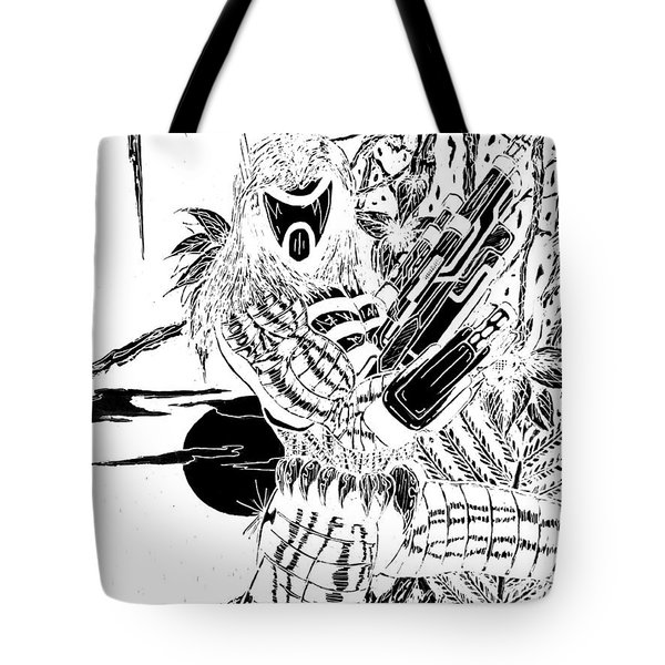 The Assassin Invert Tote Bag by Justin Moore