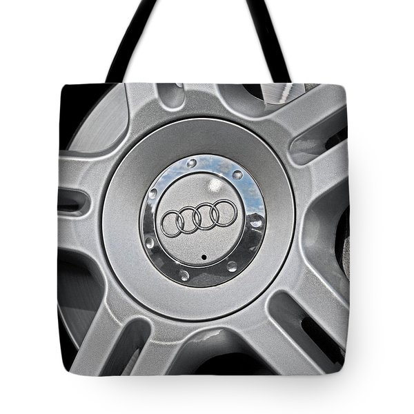 The Audi Wheel Tote Bag