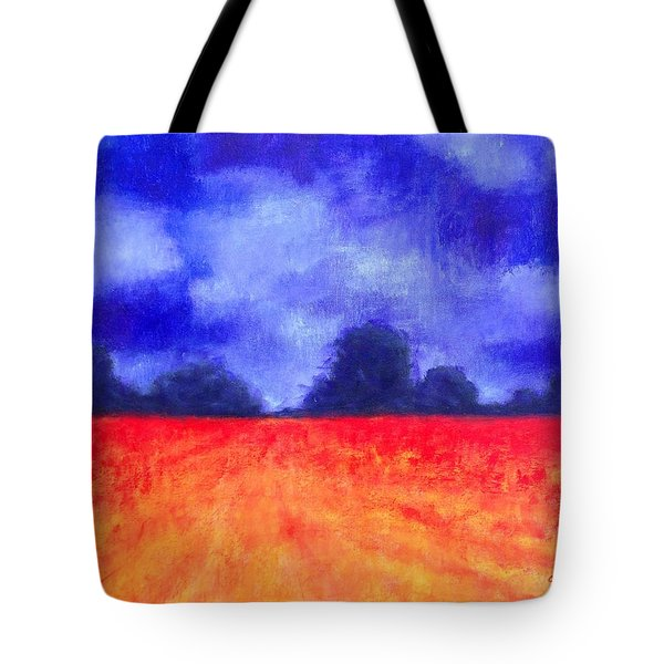 The Autumn Arrives Tote Bag