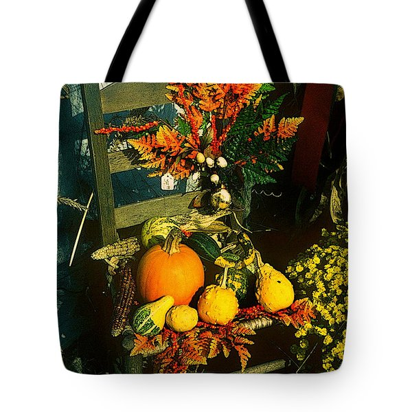 The Autumn Chair Tote Bag