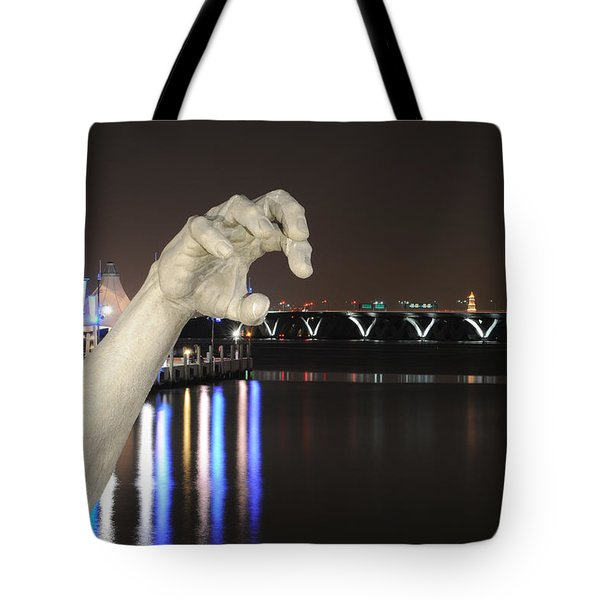 The Awakening Sculpture Tote Bag